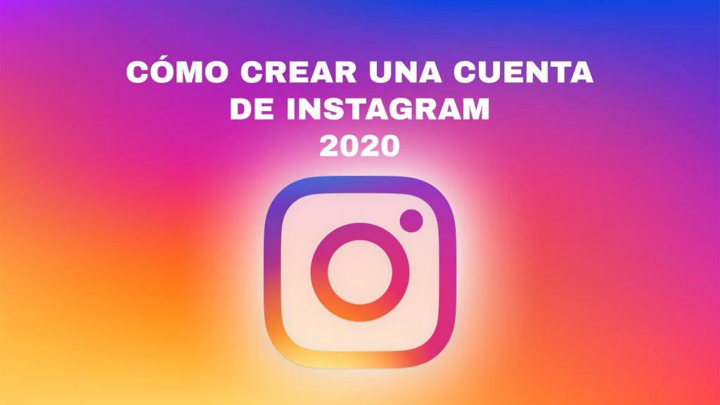 como crear una cuenta de instagram