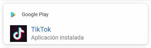 Snippet orgánico para instalar app